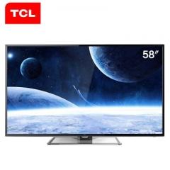 TCL电视 L58F3700A 58英寸 网络 WIFI 安卓 智能 LED液晶电视