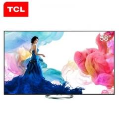TCL L58E6800A-UDS 58英寸 4K高清 旋转底座 爱奇艺视频 安卓智能LED液晶电视